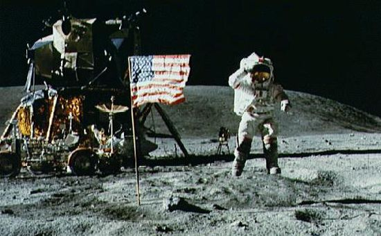 apollo 11 moon landing first step - photo #19