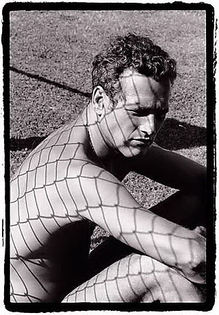 Paul Newman by Dennis Hopper, 1964