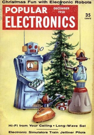 Robot christmas